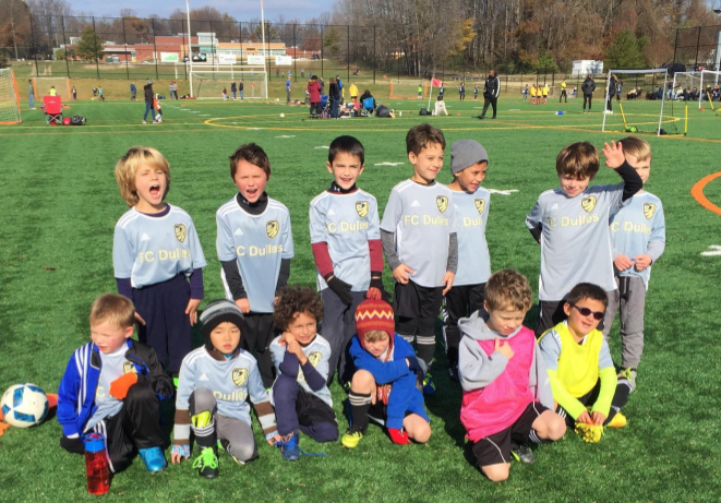 FC Dulles U7/U8 ADAP participates in Fall festival to cap exciting season!