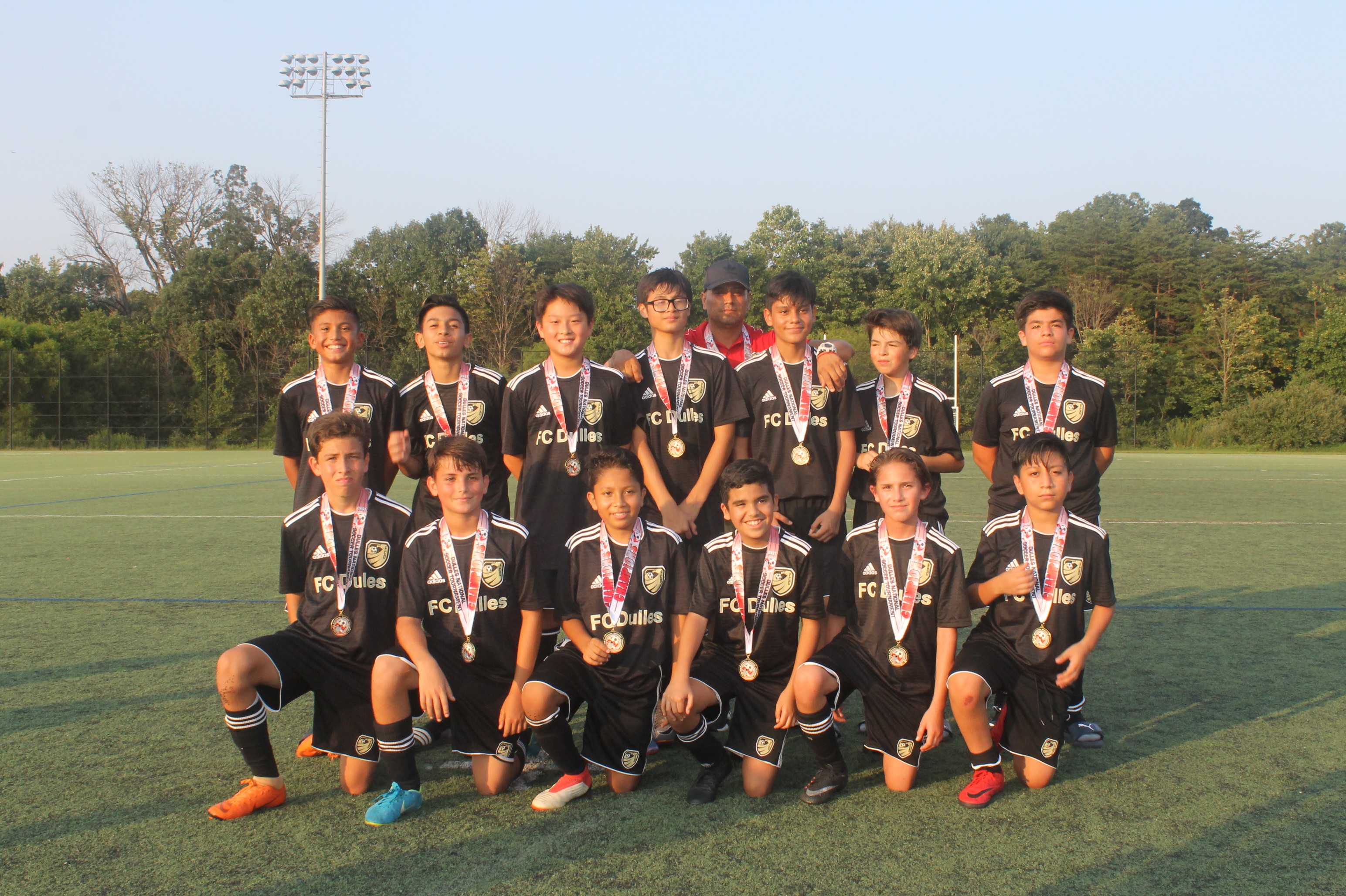 Champions! FC Dulles United Academy Gold 05 @ DNST August 25-26, 2018