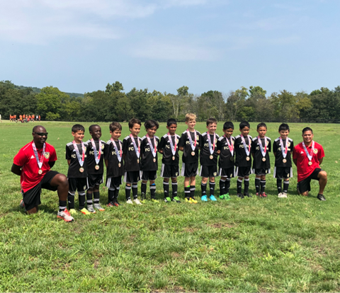 Champions! FC Dulles United Academy Gold 10 @ DNST August 25-26, 2018