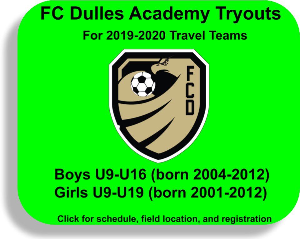 FC Dulles Fall 2019 programs are open for registration | FC
