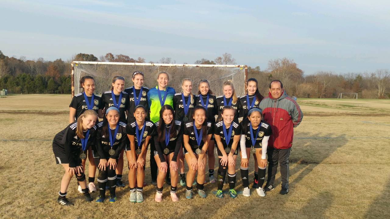 FC Dulles Spirit Academy 03 Gold Champions at NVSC Fall Tournament!