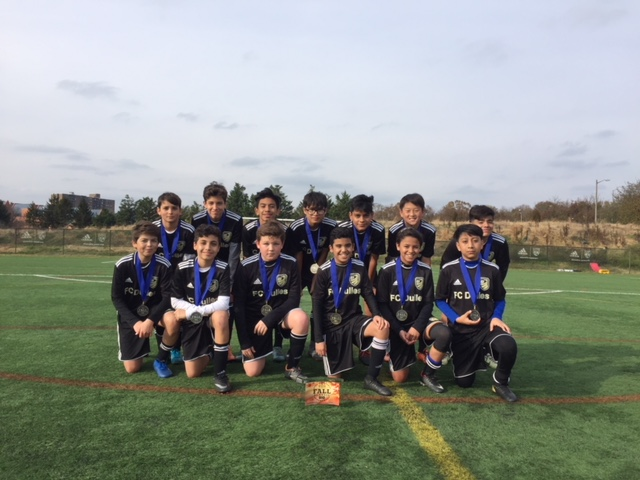 FC Dulles United Academy 05 Gold Champions at NVSC Fall Tournament